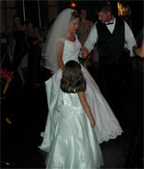 Even the Flower Girl Gets To Dance